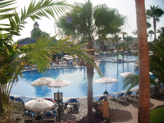Sunlight Bahia Principe Tenerife: ROOM VEIW OF TENERIFE HOTEL