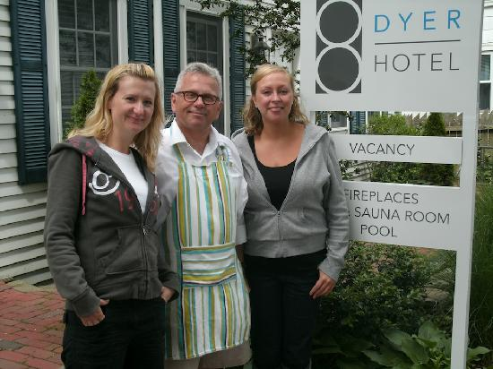 8 Dyer Hotel: Great Host and friend