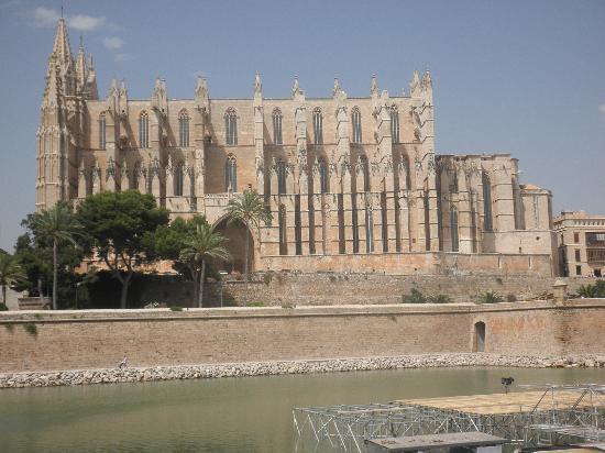 Palma Cathedral Le Seu : Cathedral, Palma