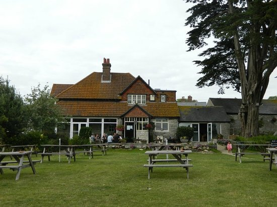The Kings Arms: huge safe garden area