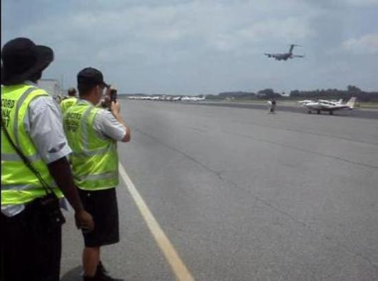 Concord Regional Airport Ramp Area
