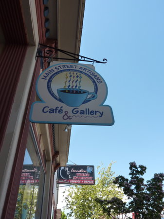 Main Street Artisans Cafe and Gallery: Main Street Artisans sign
