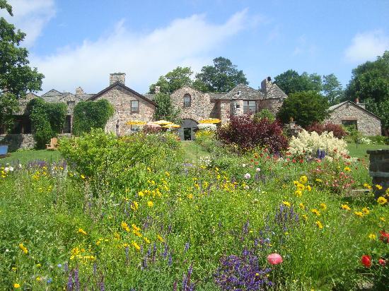 Ste. Anne's Spa: like an English garden
