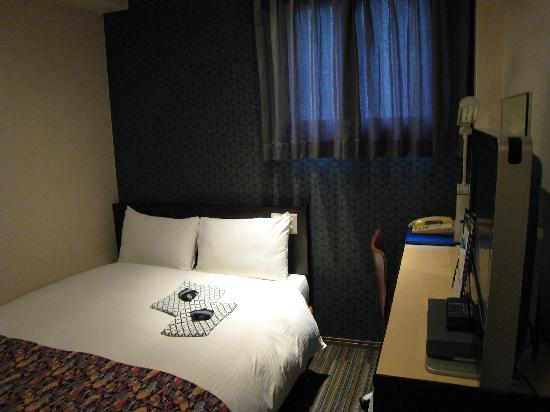 Ueno Touganeya Hotel: Semi-double room