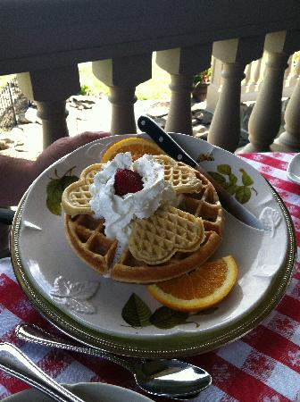 Stone Rose Bed and Breakfast: Breakfast 1