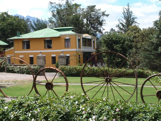 Alegria Farm: main house