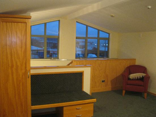 Clearbrook Motel Wanaka : The view from the loft bedroom