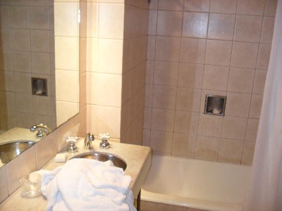 Loi Suites Esmeralda: not a nice bathroom..