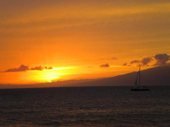 Maui Kai: view from room......lots of sunset pics!