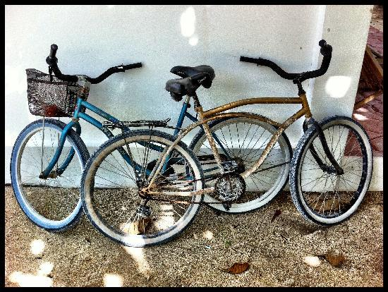 Picololo Studio Apartments: Our free bikes!