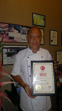 The Cliff Bar and Grill: The  Chef Sergio Martelli