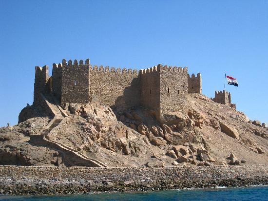 Taba, Egypt: Saladin castle again