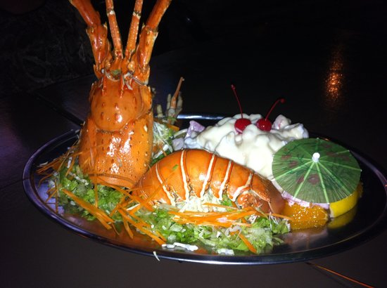 Island One Cafe & Bakery: Lobster salad