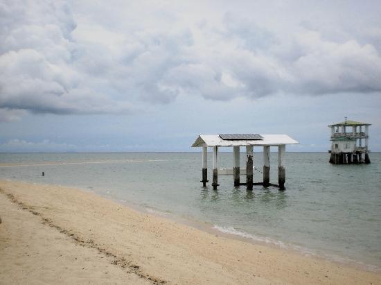 Sagay Marine Reserve (Carbin Reef) : sandbar