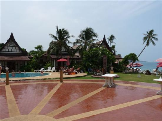 Thai Ayodhya Villas & Spa: view from the breakfast restaurant