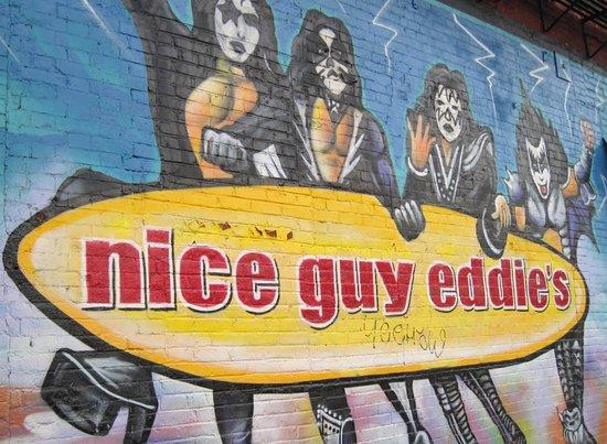 Nice Guy Eddie's (Exterior Wall)