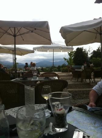 Hotel Palacio Urgoiti: view from the terrace