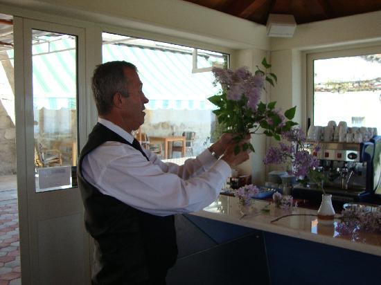 Restaurant Major: Sinlja brings fresh flowers