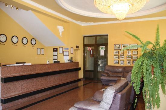 Retro Palace Hotel Apartment: reception
