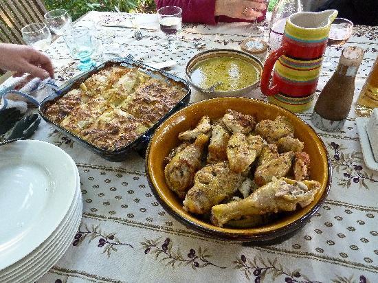 Memoires de Provence : Dinner