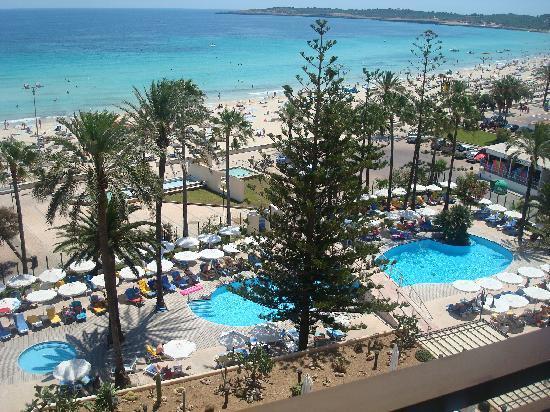 SENTIDO Playa del Moro: view from main  front Balcony