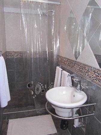 Africa Centre Airport Leisure Hotel & Guest Lodge: baño