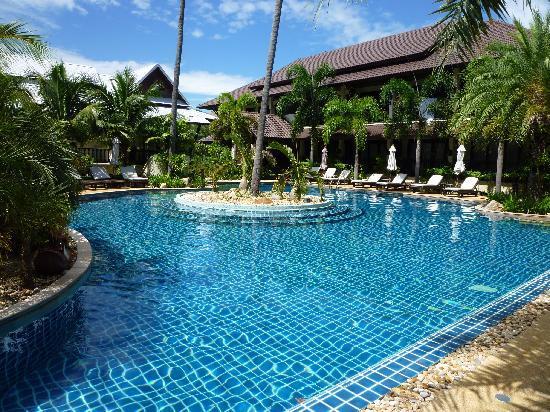 Am Samui Palace: Swimmingpool