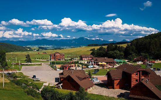 Martin, Slovakia: Hotel view