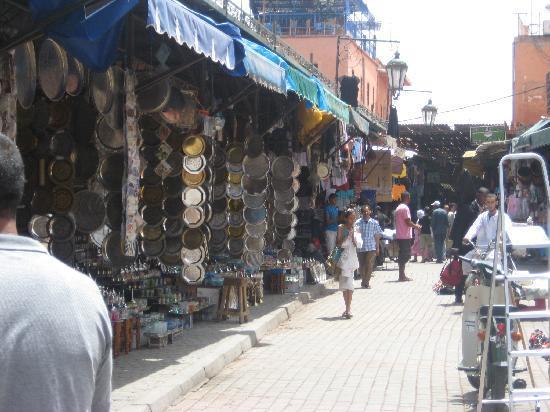 per le vie di Marrakech