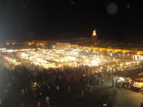 Marrakech, Morocco: Jamaa El Fna