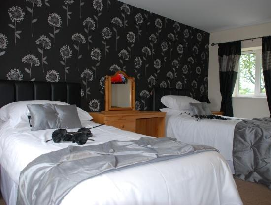 Affcot Lodge: Twin Bedroom
