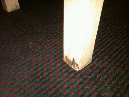 Days Inn Decatur Southeast: Mold on furniture