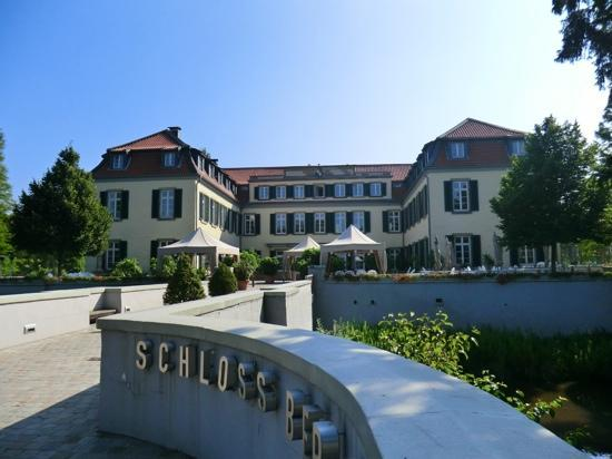 Schloss Berge: Hotel von vorne