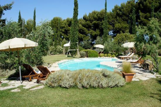 Relais Poggio Ai Santi: Pool area