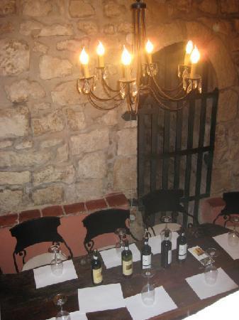 Carpe Diem : zaal voor wijnproeverij