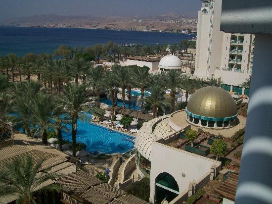 Herods Palace Hotel Eilat: Vue de la chambre au 6 eme etage gauche