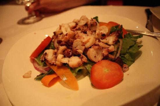Smyrna Mediterranean Turkish Restaurant: Grilled Octopus Salad
