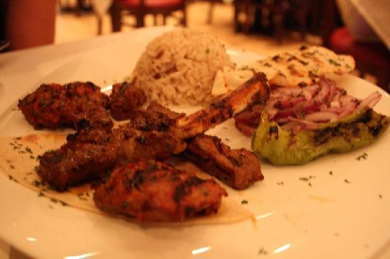 Smyrna Mediterranean Turkish Restaurant: Mixed Grilled Lamb