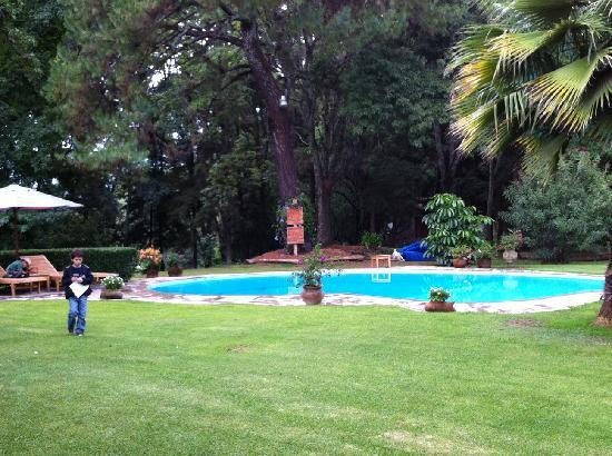 Rancho San Cayetano: la piscina