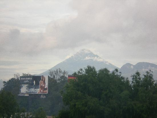 Barcelo Guatemala City: View from balcony