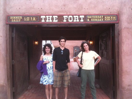 The Fort: Front entrance