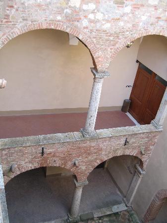 Palazzo Bellarmino : View from my hallway
