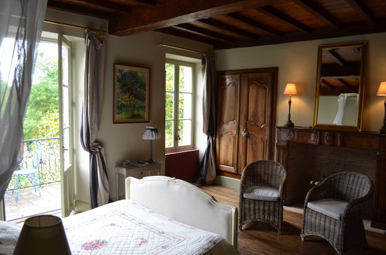 Moulin de Labique: Stunning room with private balcony