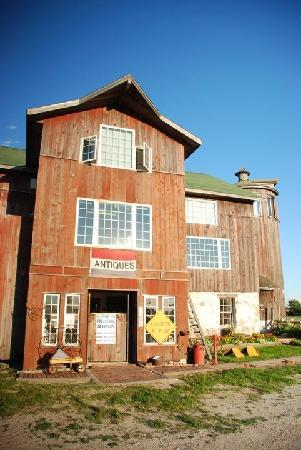Cornerstone Suites: It's a big, old, converted barn with an antiques shop below the suites!