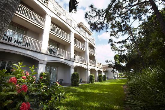 Trianon Bonita Bay: East Back Side of Hotel