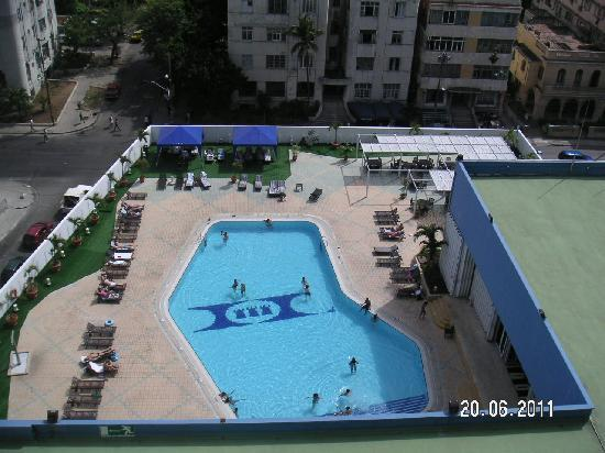 Tryp Habana Libre: at least the pool is clean
