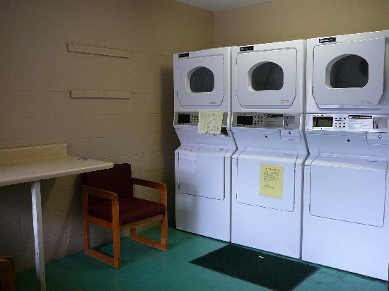 Laundry Room behind condos at Johnson's Inn 2011