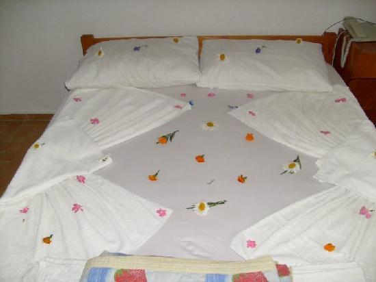 Ali Baba Hotel : our bed