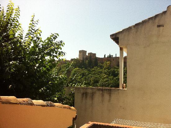 El Numero 8: rooftop view of Alhambra