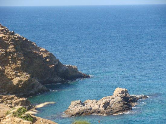 Villa Vasilis:                   по дороге на пляж
